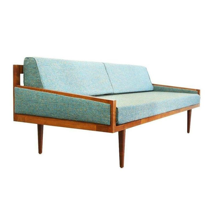 mid century style daybed sofa