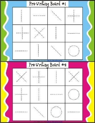 visual motor bingo ot kids pre writing pinterest. Black Bedroom Furniture Sets. Home Design Ideas