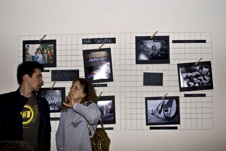 Sguardo d'intesa (?) immortalato da Elena aka nadja tra il presidentissimo sciaradico Marco aka Lu Graccu e su madre
