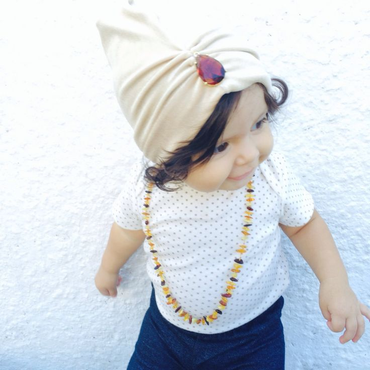 Beige Velvet BABY TURBAN HAT Head Wrap Turban For by TheLoveyBow