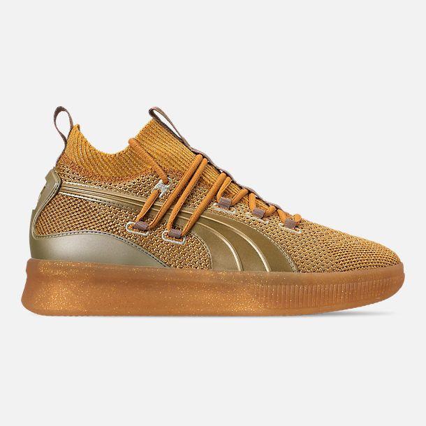 designer fashion 9149e 570f7 Men's Puma Clyde Court Title Run Basketball Shoes| Finish ...