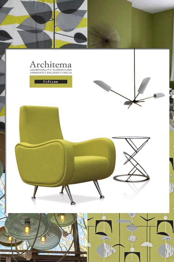 ARCHITEMA - LOLLO armchair in fabric ELVIN 6550