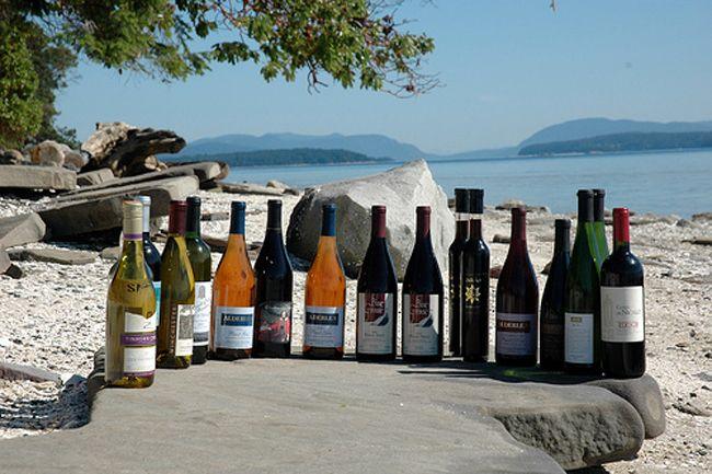 Wines Vancouver Island BC EcoAdventuresBC.com - Road Trips - West Coast BC | birdsofafeather.ca