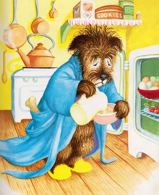 Mister Dog - written by Margaret Wise Brown, illustrated by Garth Williams (1952)  (Little known fact: Dogs need cereal before they can start the day.)