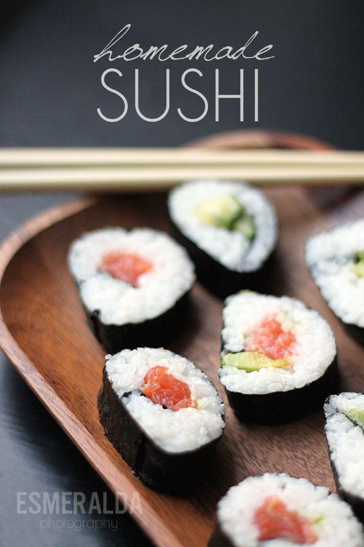 Homemade Sushi by Esmeralda's blogger Essi.