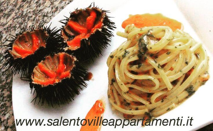 Piatto di pasta ai ricci di mare, chi vuole favorire????