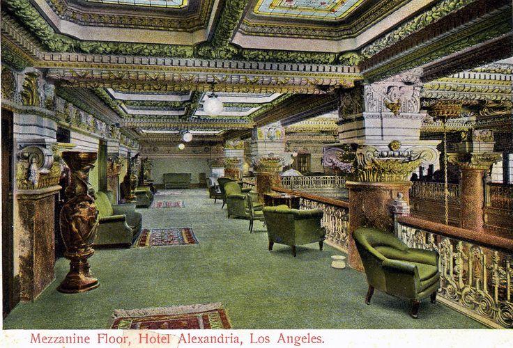The Alexandria Hotel -- Mezzanine Level