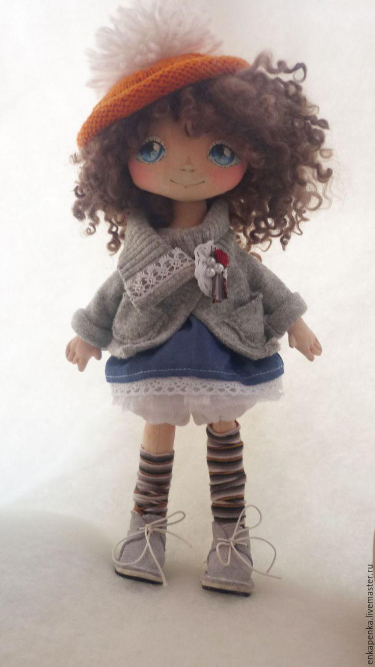Купить Кукла Наташа (повтор) - подарок, кукла ручной работы, кукла интерьерная, текстильная кукла