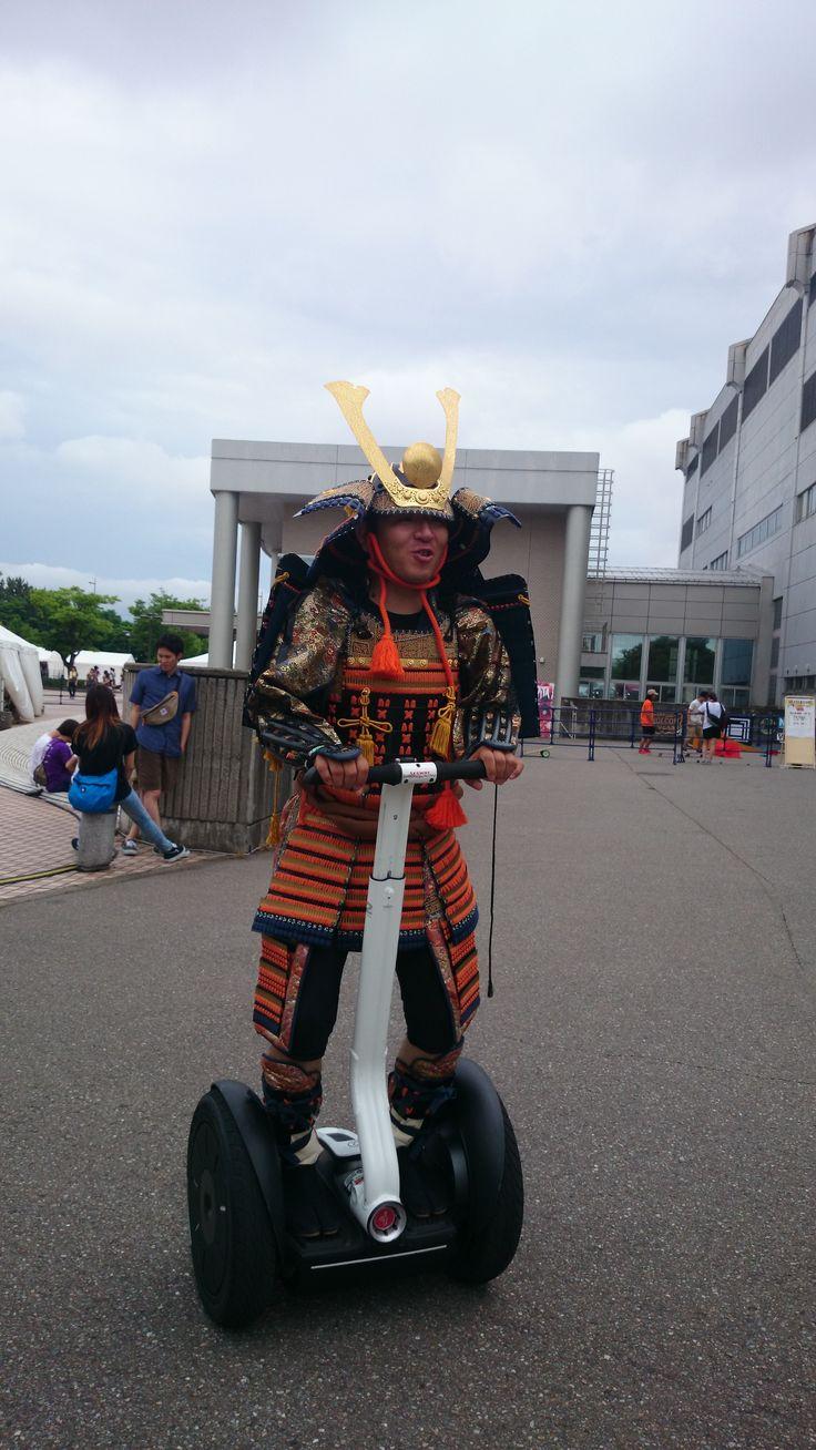 百万石音楽祭2014にセグウェイブースで参加!武将×セグウェイ~