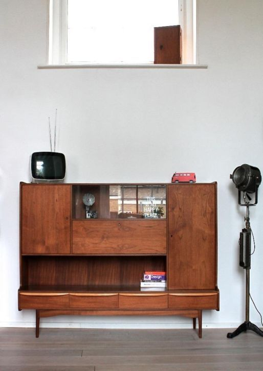 Teak Sideboard | Danish Modern I've got a thing for mid-century modern...