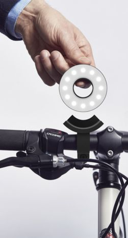 This Might Be The Cleverest Bike Light Ever ;) #tech #cool #gadget