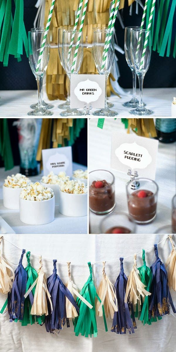 Confetti Sunshine: Clue Mystery Party and FREE Invitation Printable