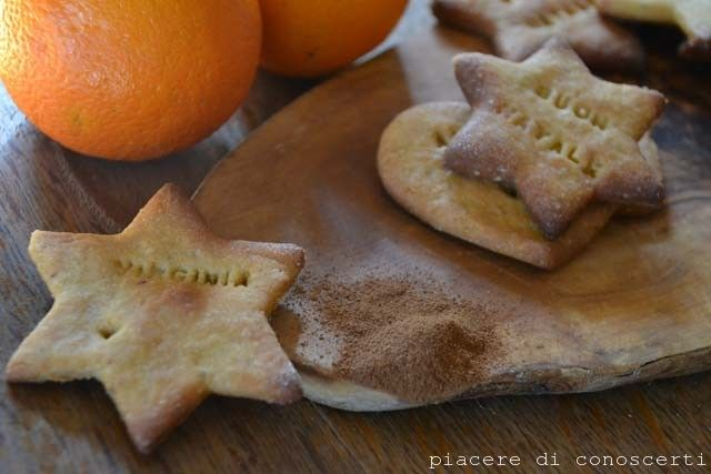 La #ricetta dei miei #biscotti all'arancia e cannella senza glutine.