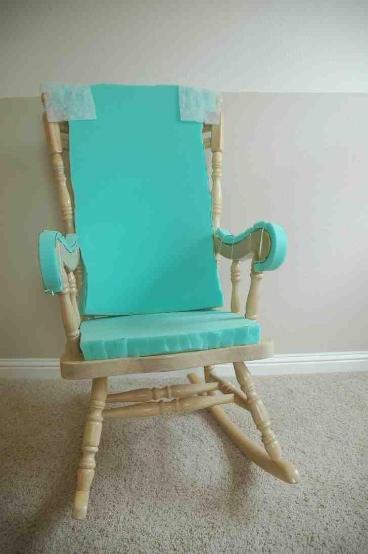 Rocking chair cushions nursery - Cushioned Rocking Chair