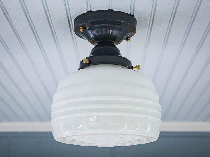Semi Flush Ceiling Lights Glass Brass Fixture Bathroom: Best 25+ Flush Mount Ceiling Ideas On Pinterest