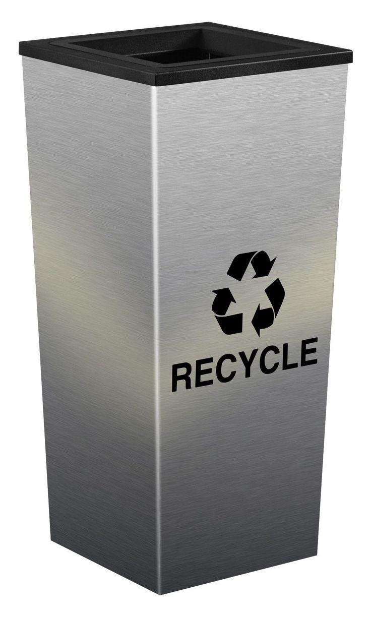 Metro 18-Gal Indoor Industrial Recycling Bin