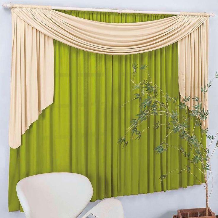 17 melhores ideias sobre como fazer bandô de cortina no pinterest ...