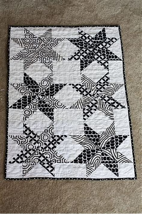 Best 25+ Black and white quilts ideas on Pinterest | Quilt ... : black and white quilt kits - Adamdwight.com