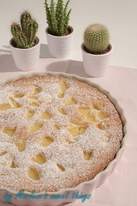 Marlene's sweet things: schneller Ananas-Kuchen