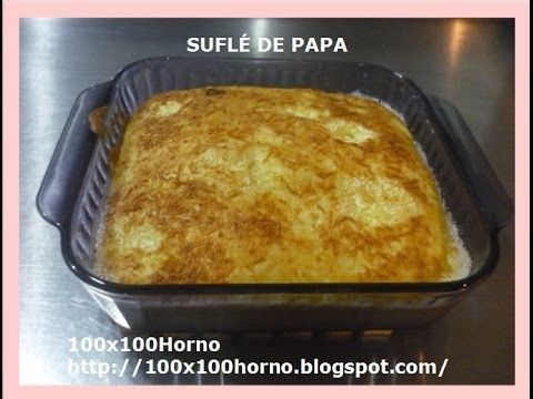 SUFLÉ DE PATATAS - YouTube