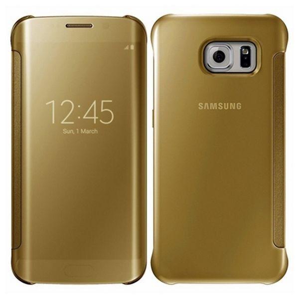 #Buchumschlag #Hülle für #Samsung #S8 in #Gold #Smartphones