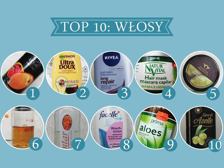 Martusiowy Kuferek - Pielęgnacja włosów cienkich i delikatnych: TOP 10: Ulubione produkty do włosów