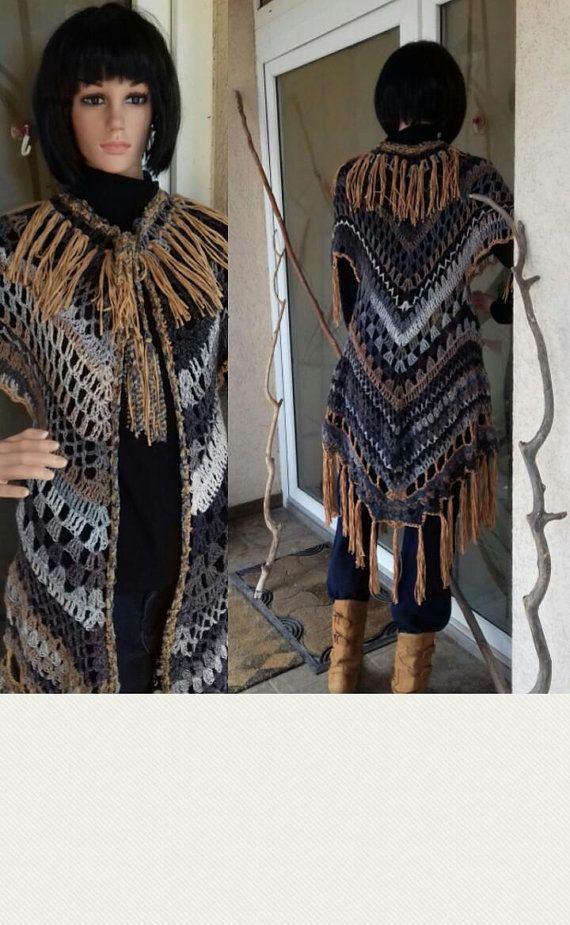 Crochet Cardigan /Boho Summer Cardigan/Summer Country Jacket/Fringe Coat/Romantic /Boho-gipsy plus size