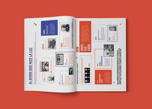 Nikola Tesla / Pressbook. on Behance