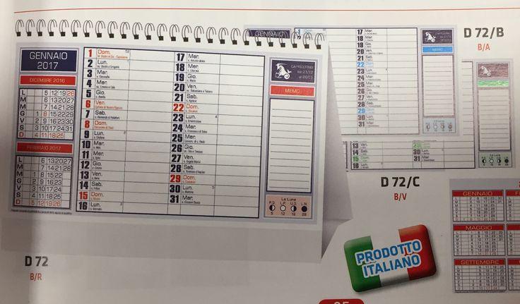 Calendari da scrivania semplici e personalizzati