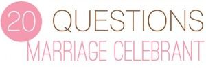 questions to ask marriage celebrant