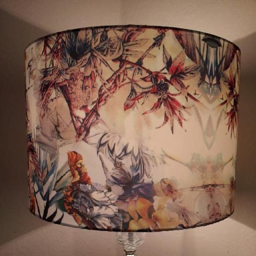 Beautiful bespoke lampshade by the talented shadimoose