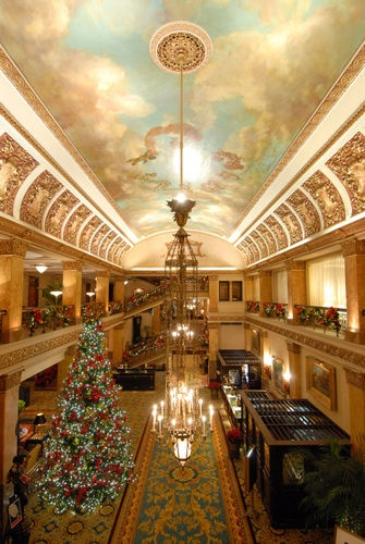 The Pfister Hotel in Milwaukee, Wisconsin.