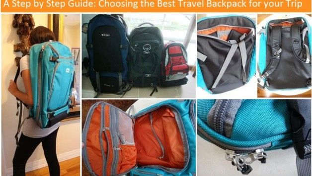 Step by Step Guide: How to Choose a Travel Backpack
