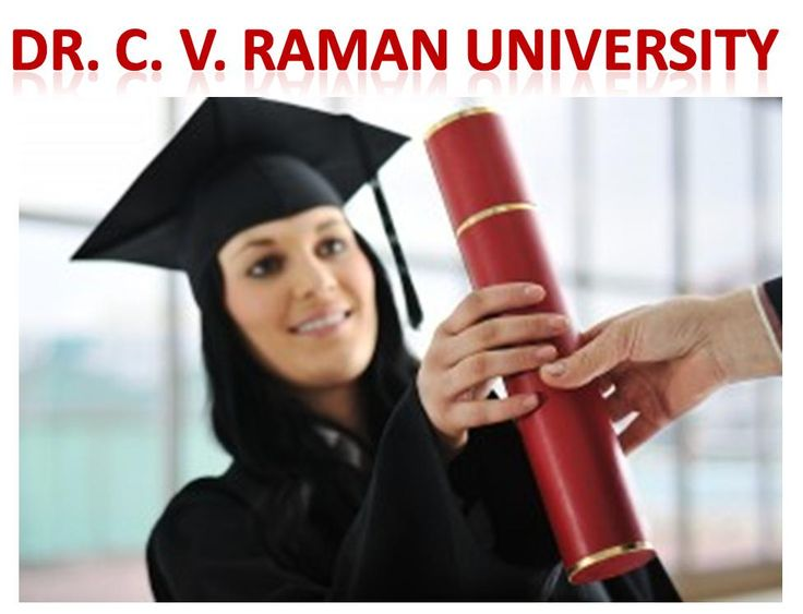 Dr. C. V. Raman University is the Best University in India for MBA