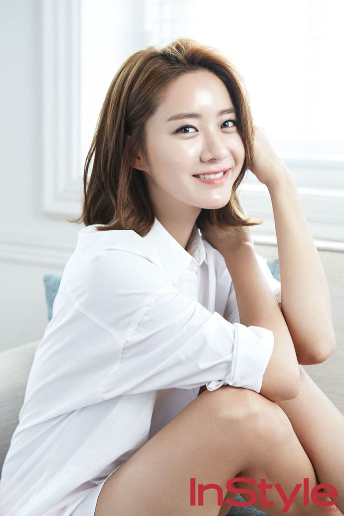 Han Groo Adds A Glow To InStyle Korea Magazine October 2014 Issue