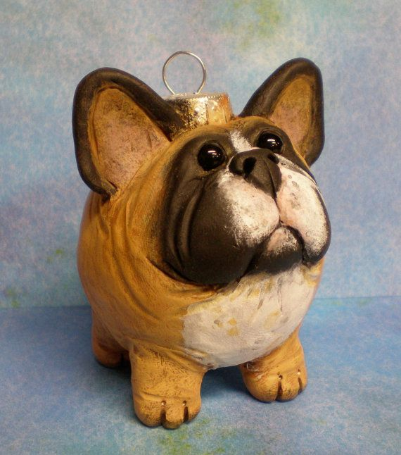 I need this #frenchbulldog #ornament in my life. NEED.