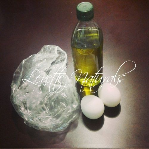 DIY Olive Oil and Egg Hair Mask!