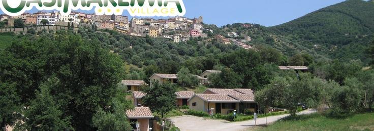 Gli alloggi di Oasi Maremma, Comfortabele huisjes met een prachtig uitzicht