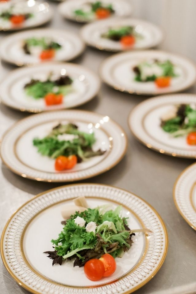 First course by the PPHG culinary team | Vow renewal inspiration in Charleston Weddings Magazine | Photo by Marni Rothschild