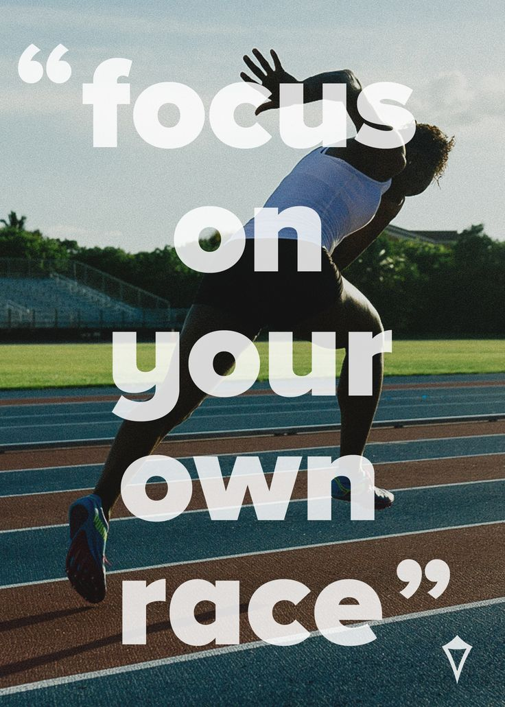 give it your all. run. quote.