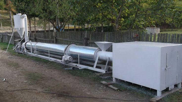 Uscator rumegus rotativ Vand uscator rumegus rotativ capacitate 500 kg ora pret 7000 euro