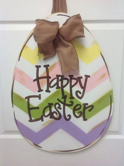 Hey, I found this really awesome Etsy listing at http://www.etsy.com/listing/176440205/happy-easter-door-hanger-easter-door