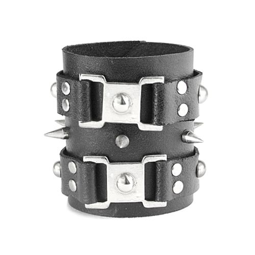 wildness leather bracelet by deriart