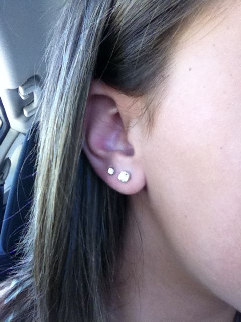 Want my upper lobes done now! | Piercings. | Pinterest ...
