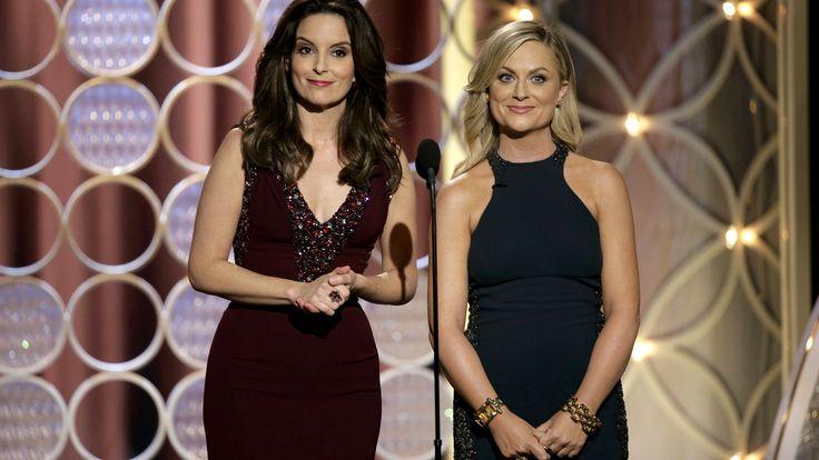 Tina Fey, Amy Poehler bring big laughs back to the Golden Globe Awards