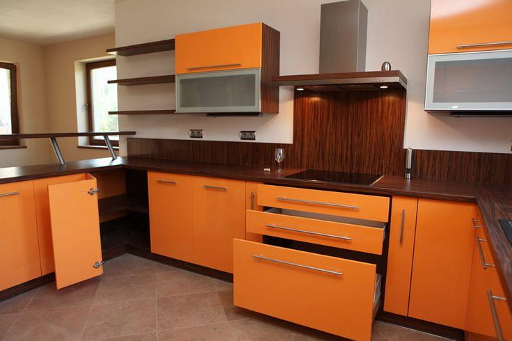 Kuchyňa orange - BMV Kuchyne