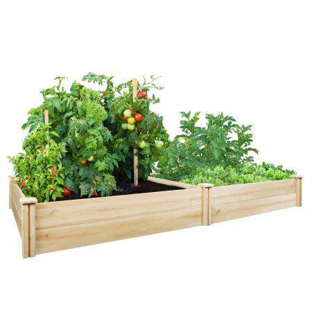 Best 25 Cedar Raised Garden Beds Ideas On Pinterest Garden Bed Raised Bed Kits And Raised
