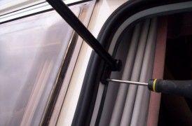 Wizards Caravan Repair - link to instructions for replacing window seals