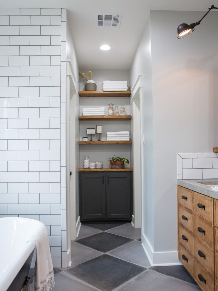 44 best fixer upper favorites images on pinterest chip for Joanna gaines bathroom renovations