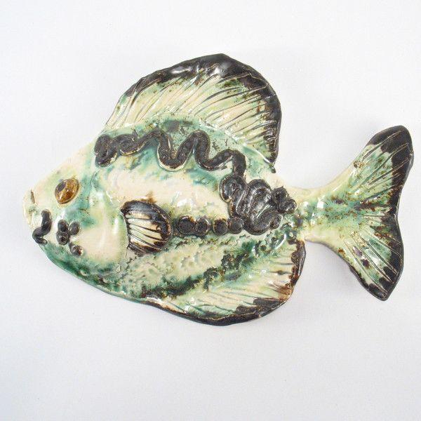 Wohndekoration - Ryba ceramiczna - ein Designerstück von Zielonepalce bei DaWanda